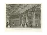 Gallery of Henry II, Fontainbleau Giclee Print by Alphonse Marie de Neuville