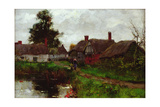 By the Pond Giclee Print by Henry John Yeend King