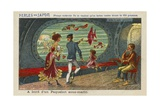 On Board an Underwater Liner in the Year 2000 Giclee Print