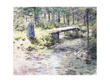 The Little Bridge Giclee Print by Theodore Robinson