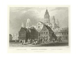 Mayence Cathedral Giclee Print by William Tombleson