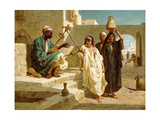 The Song of the Nubian Slave, 1864 Giclee Print by Frederick Goodall
