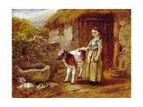Maggie's Charge Giclee Print by John H. Dell