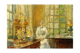 Mrs. Holley of Cos Cob, 1912 Giclee Print by Childe Hassam