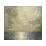 Moonlit Seascape, 1909 Giclee Print by Emil Carlsen