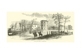 United States Arsenal at Fayetteville, March 1865 Giclee Print