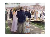 Henley Giclee Print by Paul Gribble