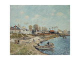 Sand on the Quay, 1875 Giclee Print by Alfred Sisley