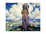 The Chief Giclee Print by Eanger Irving Couse