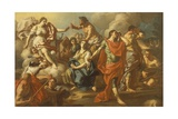 The Sacrifice of Iphigenia Giclee Print by Francesco de Mura