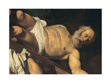 Martyrdom of St Peter, 1600 - 1601 Giclee Print by Michelangelo Merisi da Caravaggio