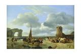 Coastal Scene Giclee Print by Jean Louis De Marne