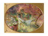 Summer in the Garden Giclee Print by Henri-Gaston Darien