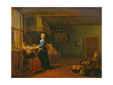 Kitchen Interior Giclee Print by Hendrik Martensz Sorgh