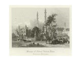 Mosque of Abdul Rahim Khan, Burhanpur, India Giclee Print by Henry Warren