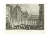 Hotel-De-Ville Bourges Giclee Print by Alphonse Marie de Neuville