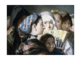 Los Madrilenos Giclee Print by Lorenzo Baldissera Tiepolo