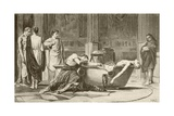 The Death of Seneca Giclee Print