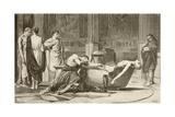 The Death of Seneca Giclee Print