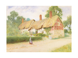 Ann Hathaway's Cottage Giclee Print by Arthur Claude Strachan