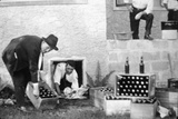 Bootleggers During Prohibition Photographic Print by  American Photographer