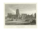 Ruins at Andernach Giclee Print by William Tombleson