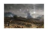 Siege of Gaeta Giclee Print by Carlo Bossoli