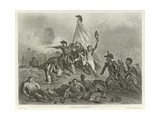 Battle of Jemappes Giclee Print by Denis Auguste Marie Raffet