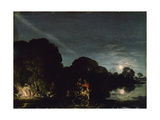 The Flight into Egypt, 1609 Giclee Print by Adam Elsheimer