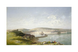 The Estuary, 1869 Giclee Print by James Francis Danby