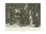 Charles V at the Monastery of St Just Giclee Print by Juliaan De Vriendt