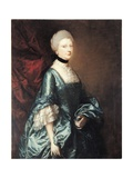 Portrait of Harriet, Viscountess Tracy, C.1763 Giclee Print by Thomas Gainsborough