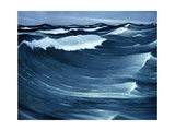 Waves, C.1917 Giclee Print by Christopher Richard Wynne Nevinson