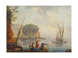 Seascape Giclee Print by Charles Francois Lacroix de Marseille