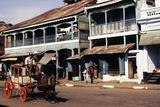 Street Scene, Mamyo, Myanmar Photographic Print