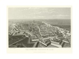 The Town and Fortress of Lille Giclee Print by Alphonse Marie de Neuville