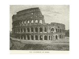 The Colosseum at Rome Giclee Print