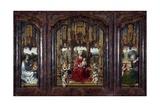 Triptych Malvern, 1511-1515 Giclee Print by Jan Gossaert