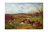 In the Meadow Giclee Print by Charles James Adams