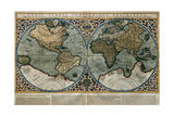 World Map Giclee Print by Gerardus Mercator