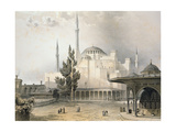 Courtyard of Hagia Sophia Giclee Print by Gaspard Fossati