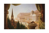 The Architect's Dream, Painting by Thomas Cole Giclee Print by Thomas Cole