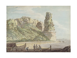 A View at Terracina, 1778 Giclee Print by Jacob More
