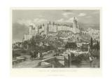 Castle of Chinon, Indre-Et-Loire Giclee Print by Alphonse Marie de Neuville