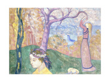 Madeleine in the Wood of Love, 1892 Giclee Print by Emile Bernard