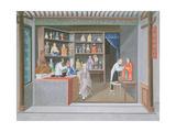 Shop Scene Giclee Print