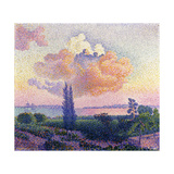 Pink Clouds, C.1896 Giclee Print by Henri Edmond Cross