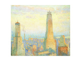 Ritz Tower, New York, 1928 Giclee Print by William Samuel Horton