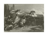 The Defence of Saragossa, Spain, 1808 Giclee Print by Sir David Wilkie