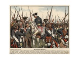 The Bernburg Regiment Giclee Print by Carl Rochling
